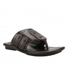 Cefiro Brown Slipper for Men - CSP0009